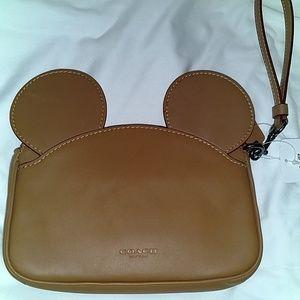 Rare Coach X Disney Mickey Mouse Ears
